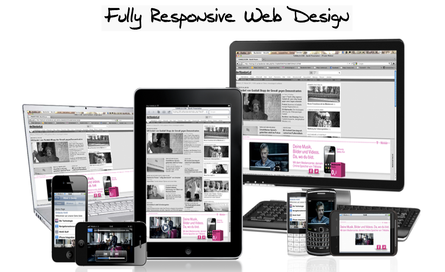 how to make the web page responsive